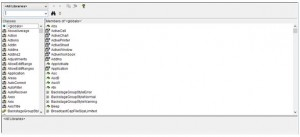 VBE_Object browser